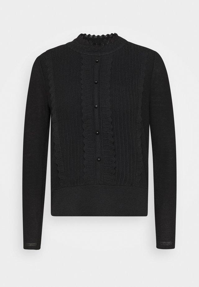 BAIGNEUSE - Stickad tröja - black