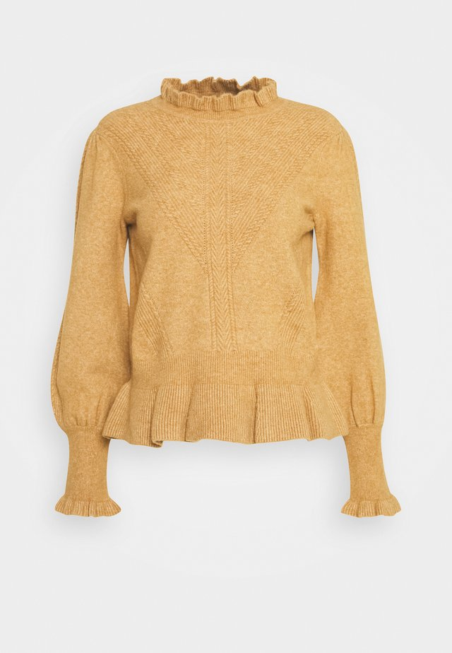 BADAUD PULL - Strickpullover - beige