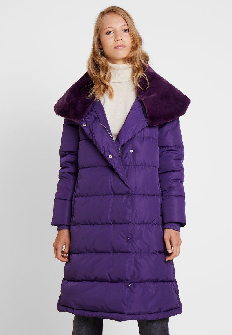 Derhy - DATCHA - Vinterkåpe / -frakk - purple