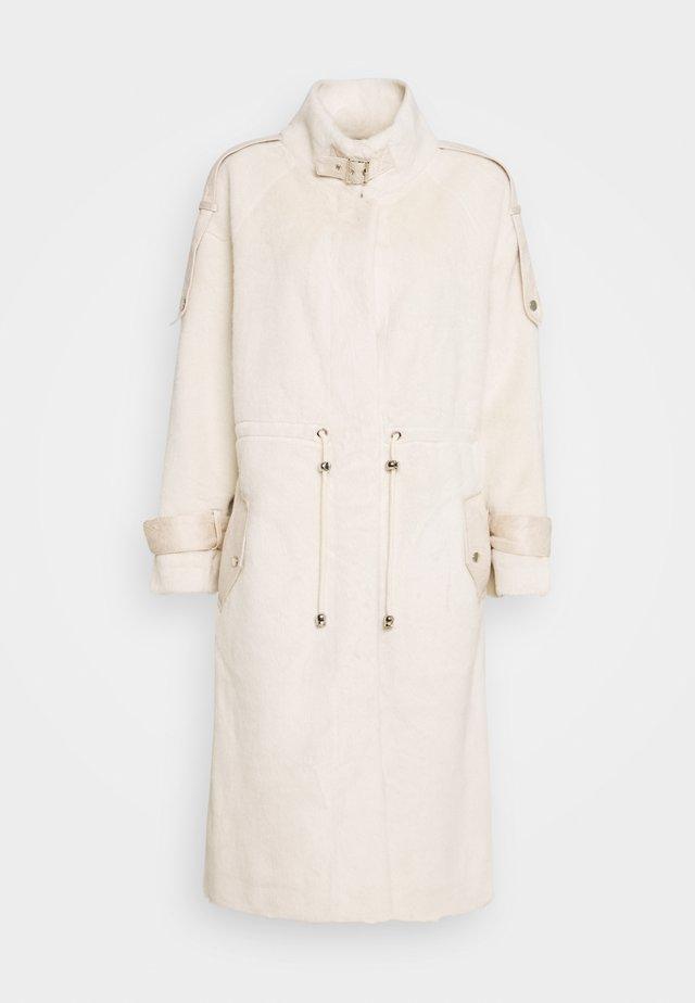 SAGESSE - Classic coat - ecru