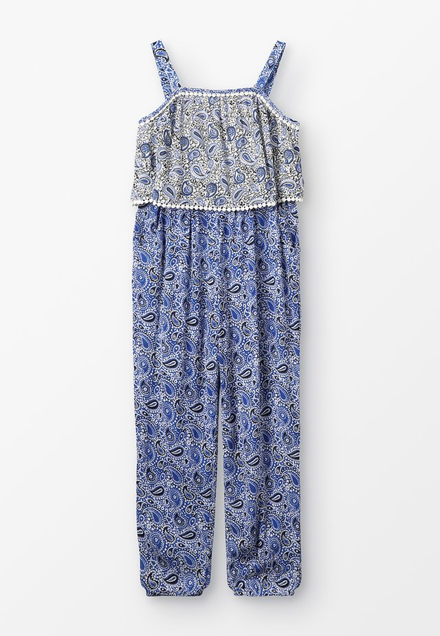 MANON - Jumpsuit - bleu/petrole