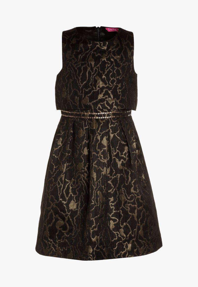 Derhy Kids - GERALDINE - Cocktail dress / Party dress - noir/or