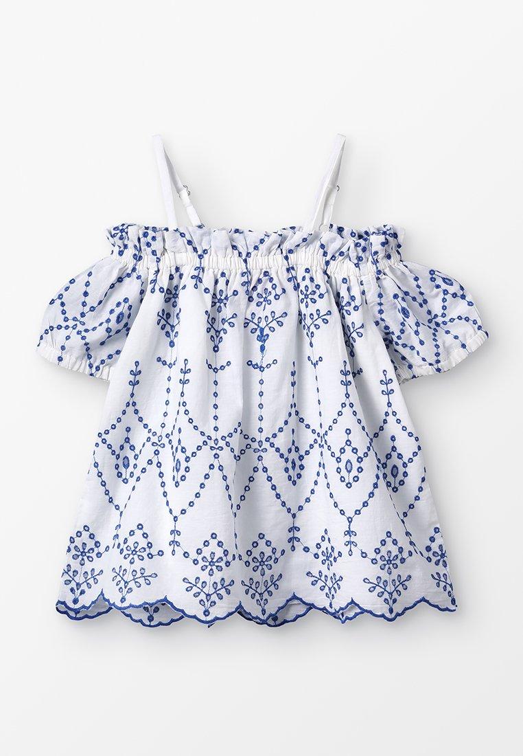 Derhy Kids - RACHEL - Blusa - blanc/bleu