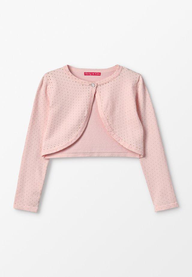 LOIS - Cardigan - rose/nude