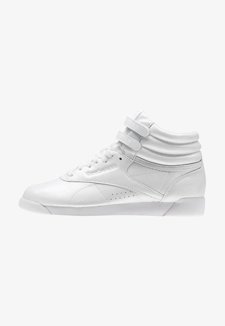 Reebok Classic - FREESTYLE HI IRIDESCENT - High-top trainers - white