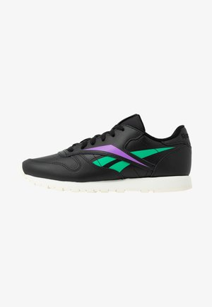 CLASSIC LEATHER CUSHIONING MIDSOLE SHOES - Baskets basses - black/emerald/grape punch