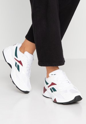 AZTREK 96  - Sneakers - white/wine/teal/black