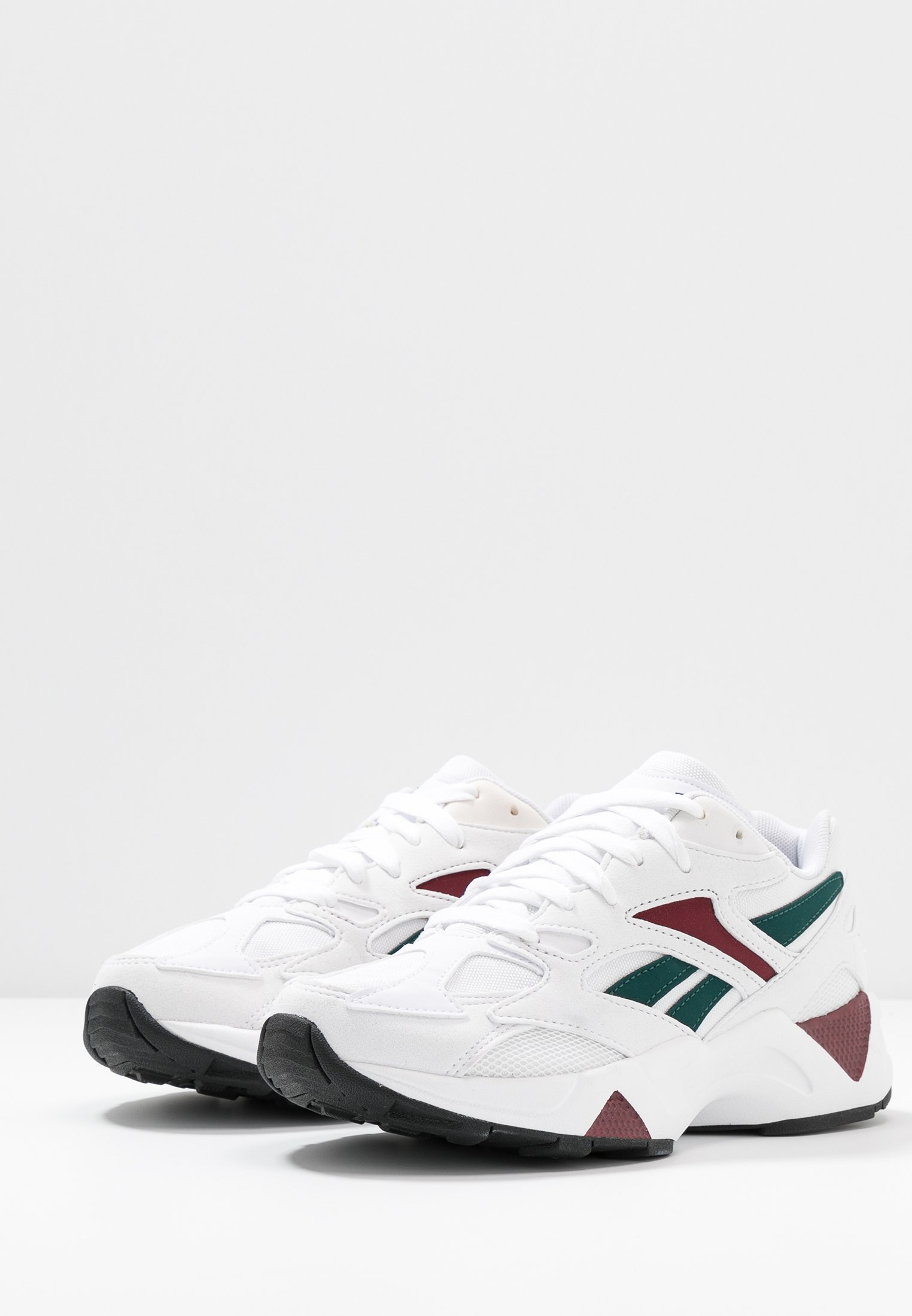 Reebok Classic AZTREK 96- Baskets basses white/wine/teal/black