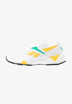 AZTREK 96  - Joggesko - white/emerald/toxic yellow