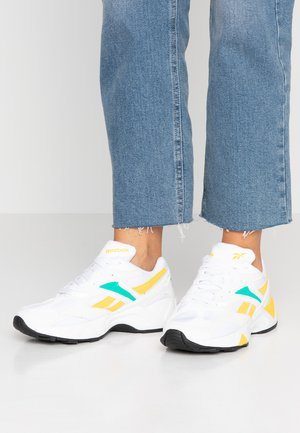 AZTREK 96  - Sneakers - white/emerald/toxic yellow