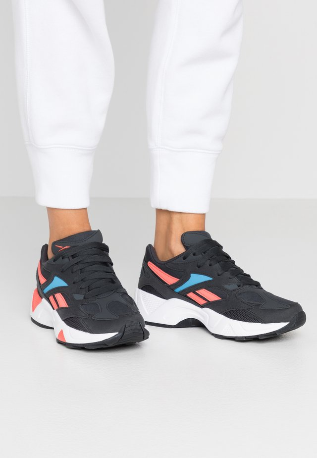AZTREK 96  - Sneakers - grey/cyan/coral/white/black