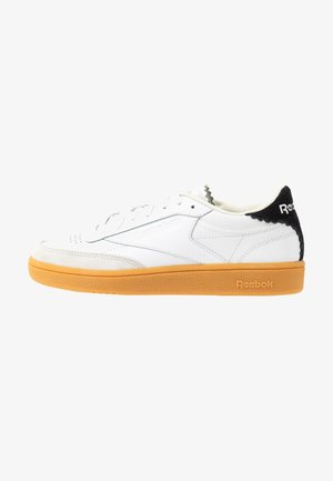 CLUB C 85 LIGHT LEATHER UPPER SHOES - Sneakers basse - white/silver metallic