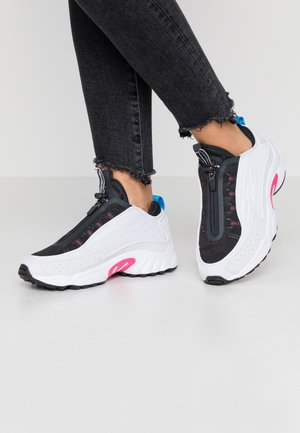 DMX SERIES 2K ZIP - Sneakers basse - white/porcelain/absolute pink