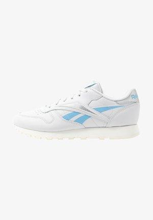 Sneakers basse - porcelain/fluid blue/silver metallic