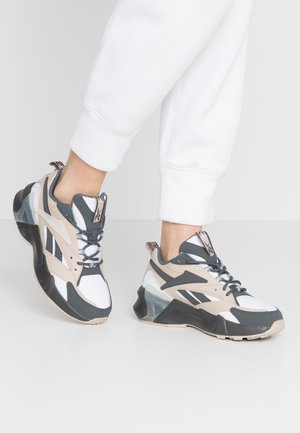 AZTREK DOUBLE  - Sneakersy niskie - cold grey/modern beige/chalk