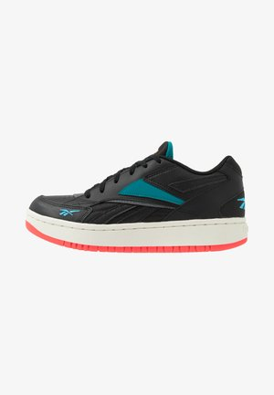 COURT DOUBLE MIX - Sneakers basse - black/pure grey/seaport teal