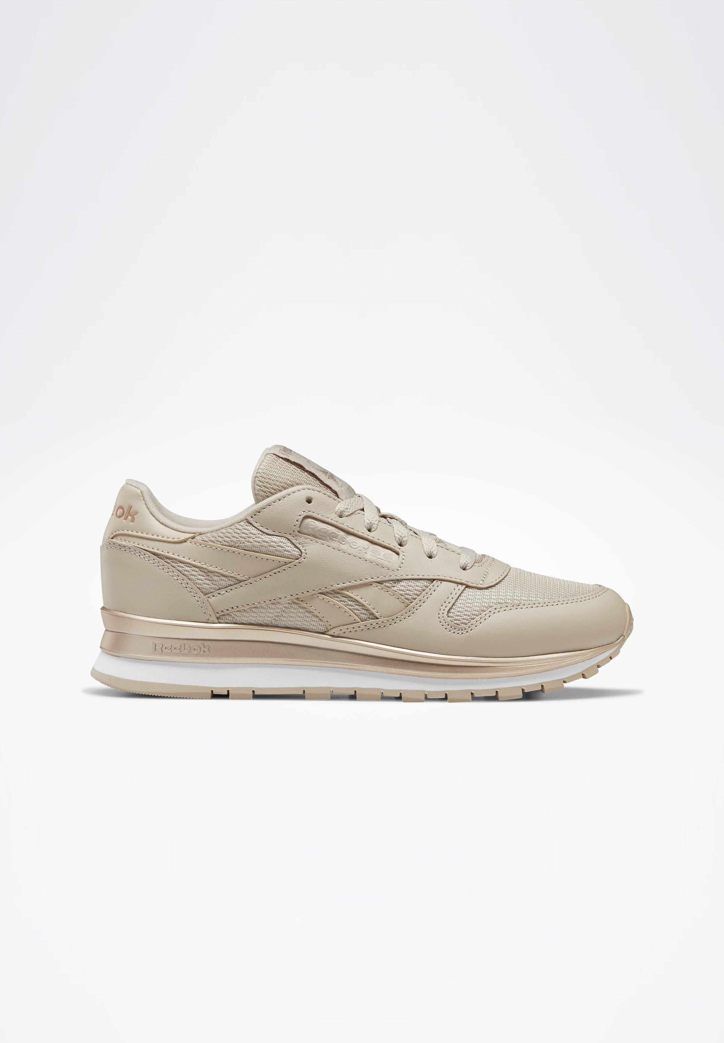 Reebok Classic CLASSIC LEATHER SHOES - Sneakersy niskie - modern beige
