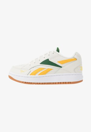 COURT DOUBLE - Trainers - chalk/glen green