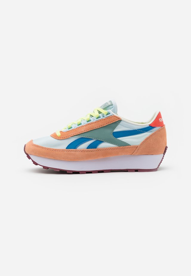 PRINCESS - Trainers - sun baked orange/glass blue/green