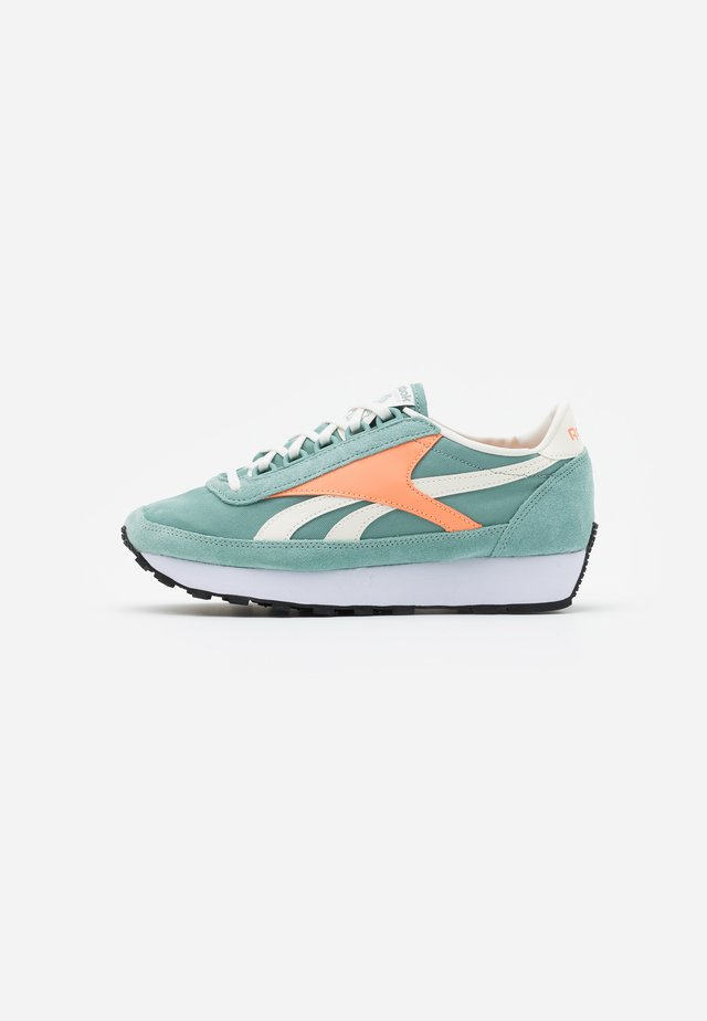PRINCESS - Trainers - green/sun orange/chalk