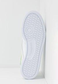Reebok Classic - CLUB C 85 - Zapatillas - white/heryel - 4