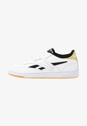 CLUB REVENGE MARK - Sneakers basse - white/black/gold metallic