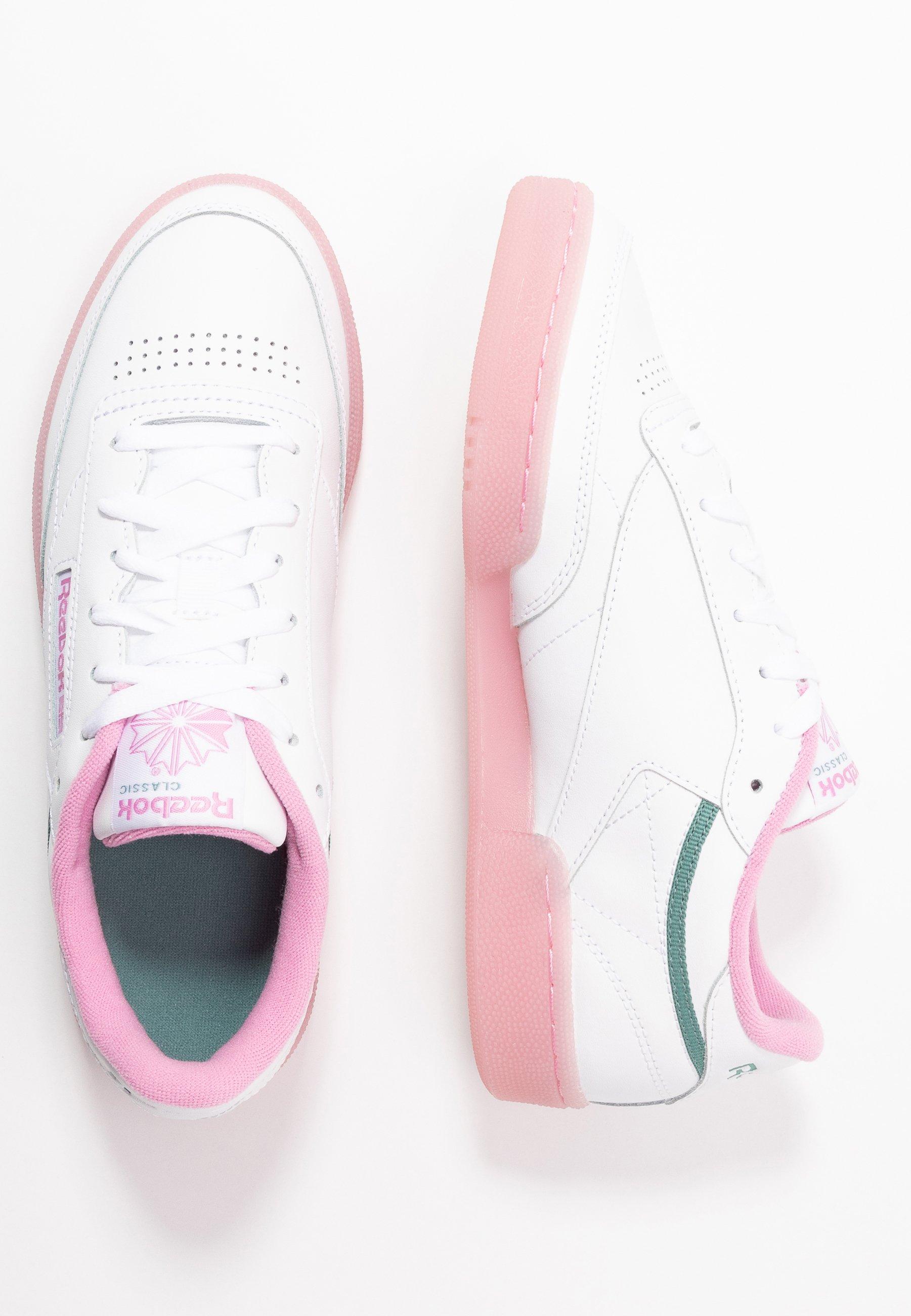 Reebok Classic CLUB C 85 Sneakers laag whitegreen slate