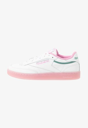 CLUB C 85 - Sneakers laag - white/green slate/jasmine pink