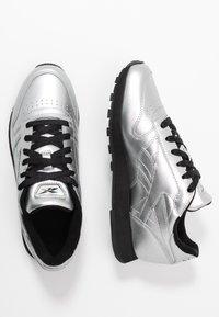 Reebok Classic - Trainers - silver metallic/black - 3