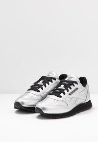 Reebok Classic - Trainers - silver metallic/black - 4