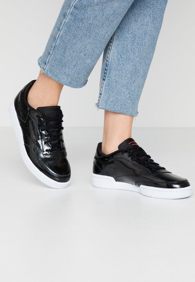 CLUB C 85 - Sneaker low - black/neo red/white