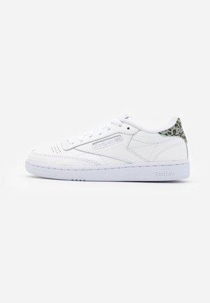 CLUB C 85 - Sneakers laag - white/silver metallic