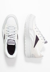 Reebok Classic - COURT DOUBLE MIX - Trainers - porcel/chalk/midnight shadow - 3
