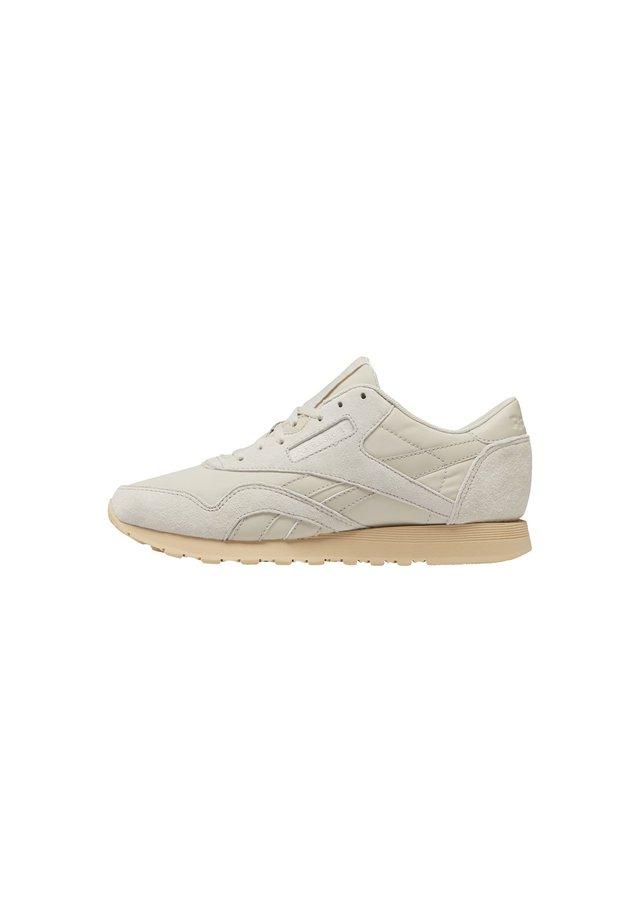 CLASSIC NYLON SHOES - Sneaker low - beige