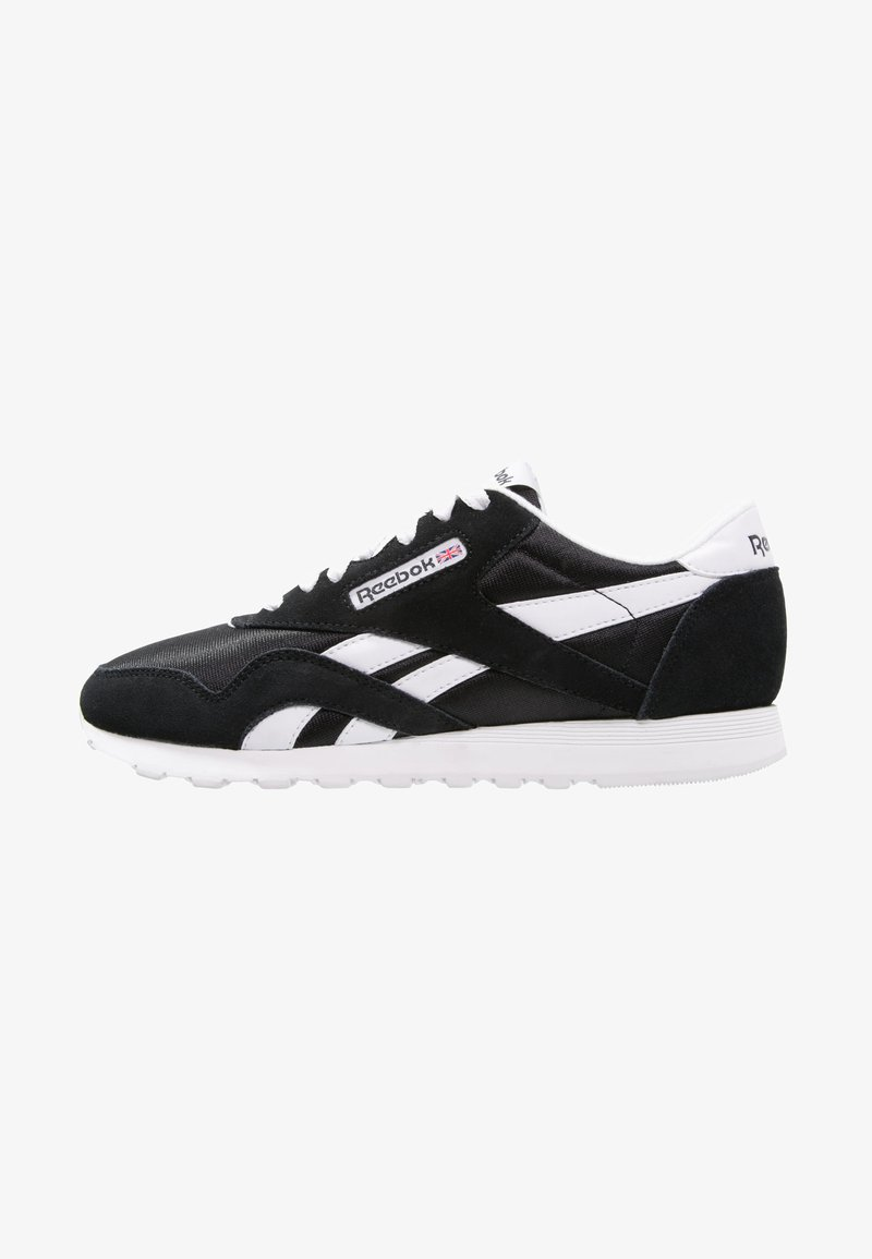 Reebok Classic - CLASSIC LEATHER NYLON BREATHABLE UPPER SHOES - Sneaker low - black/white