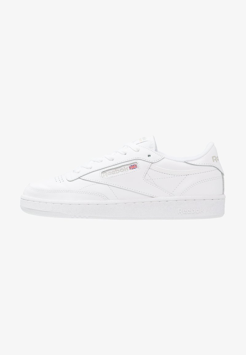 Reebok Classic - CLUB C 85 LIGHT LEATHER UPPER SHOES - Sneakers basse - white/light grey