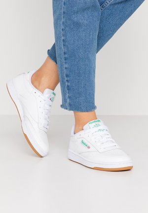 CLUB C 85 - Baskets basses - white/green