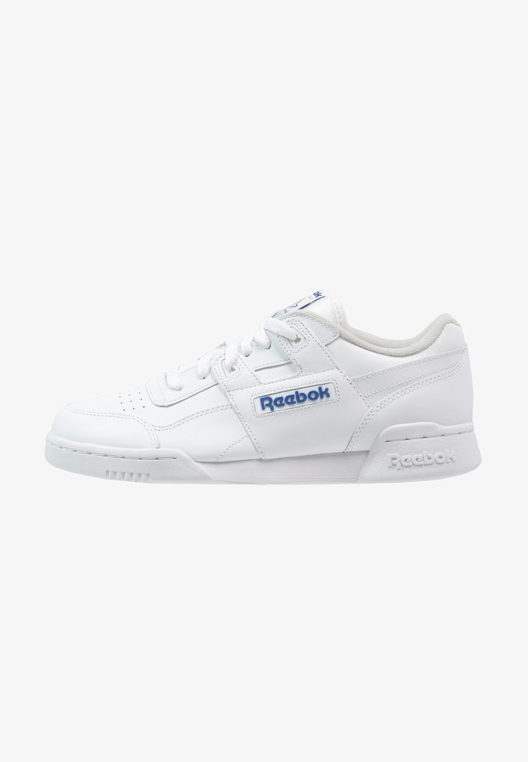Reebok Classic - WORKOUT PLUS - Trainers - white/royal