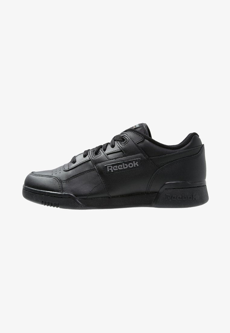 Reebok Classic - WORKOUT PLUS - Sneakers - black/charcoal