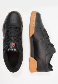 Reebok Classic - WORKOUT PLUS - Sneakers - black/carbon/red/royal - 1