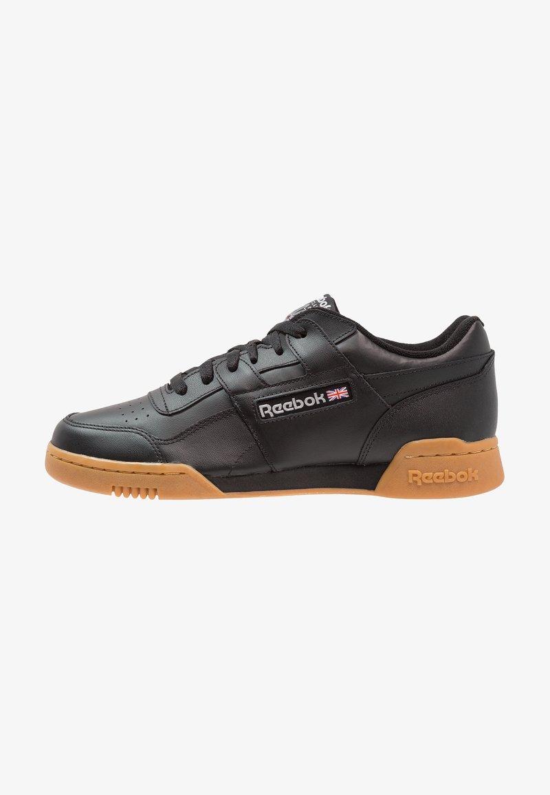 Reebok Classic - WORKOUT PLUS - Sneakers - black/carbon/red/royal