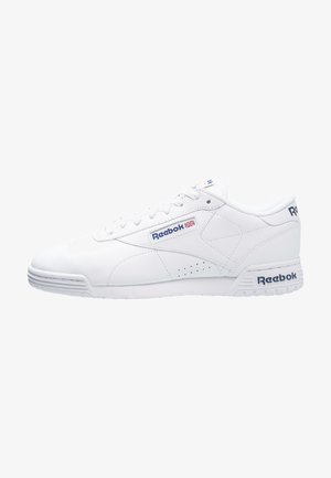 EXOFIT LO CLEAN LOGO SHOES - Matalavartiset tennarit - white/royal blue