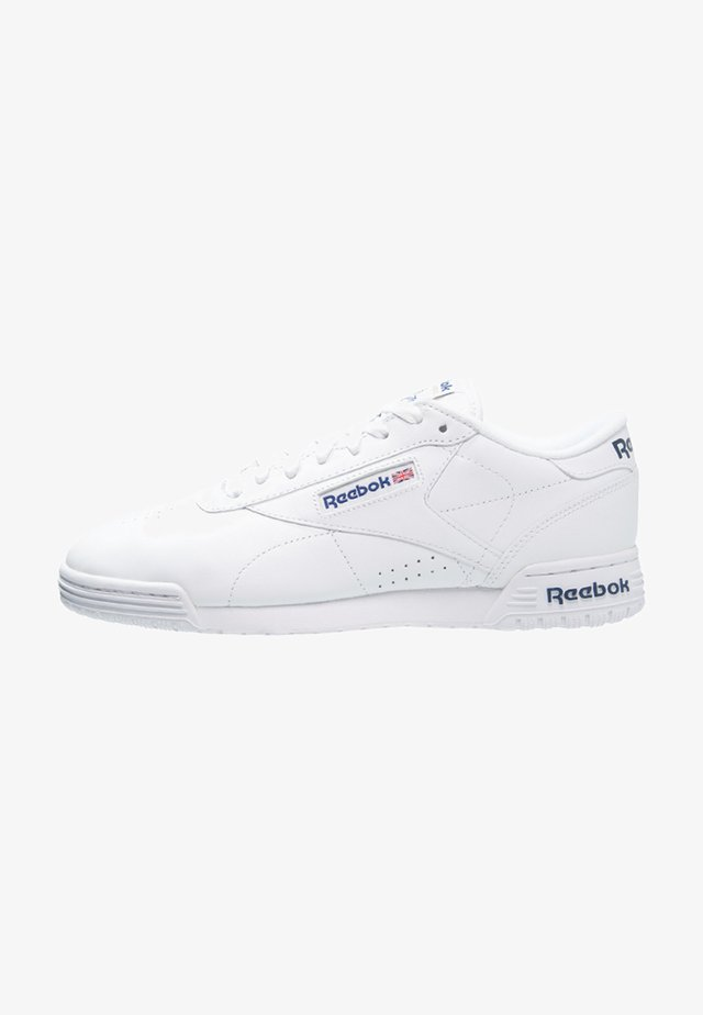 EXOFIT LO CLEAN LOGO SHOES - Sneakersy niskie - white/royal blue