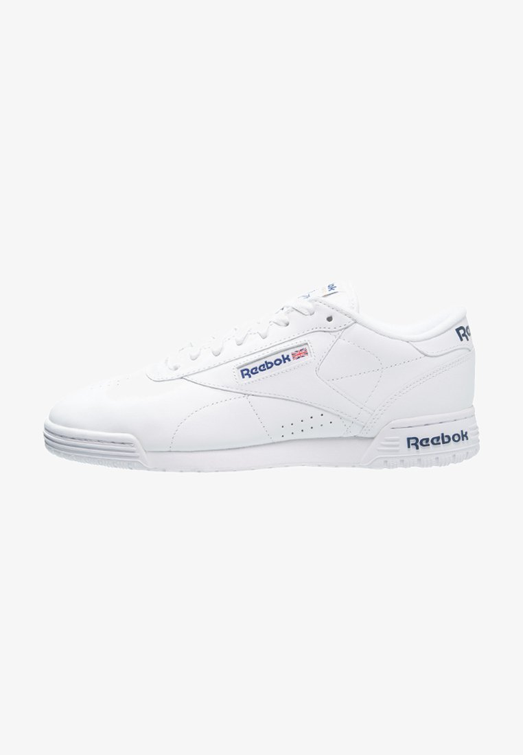 Reebok Classic - EXOFIT LO CLEAN LOGO SHOES - Trainers - white/royal blue