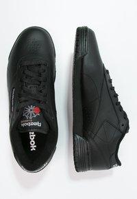 Reebok Classic - EXOFIT LO CLEAN LOGO SHOES - Baskets basses - black/silver - 1