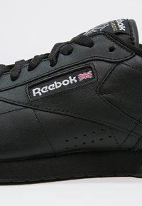 Reebok Classic - EXOFIT LO CLEAN LOGO SHOES - Baskets basses - black/silver - 5
