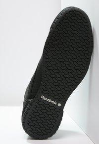 Reebok Classic - EXOFIT LO CLEAN LOGO SHOES - Baskets basses - black/silver - 4
