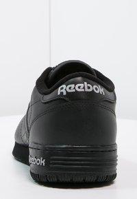 Reebok Classic - EXOFIT LO CLEAN LOGO SHOES - Baskets basses - black/silver - 3