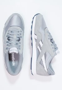 Reebok Classic - CLASSIC NYLON BREATHABLE LIGHTWEIGHT SHOES - Sneakers - platinum/jet blue - 1