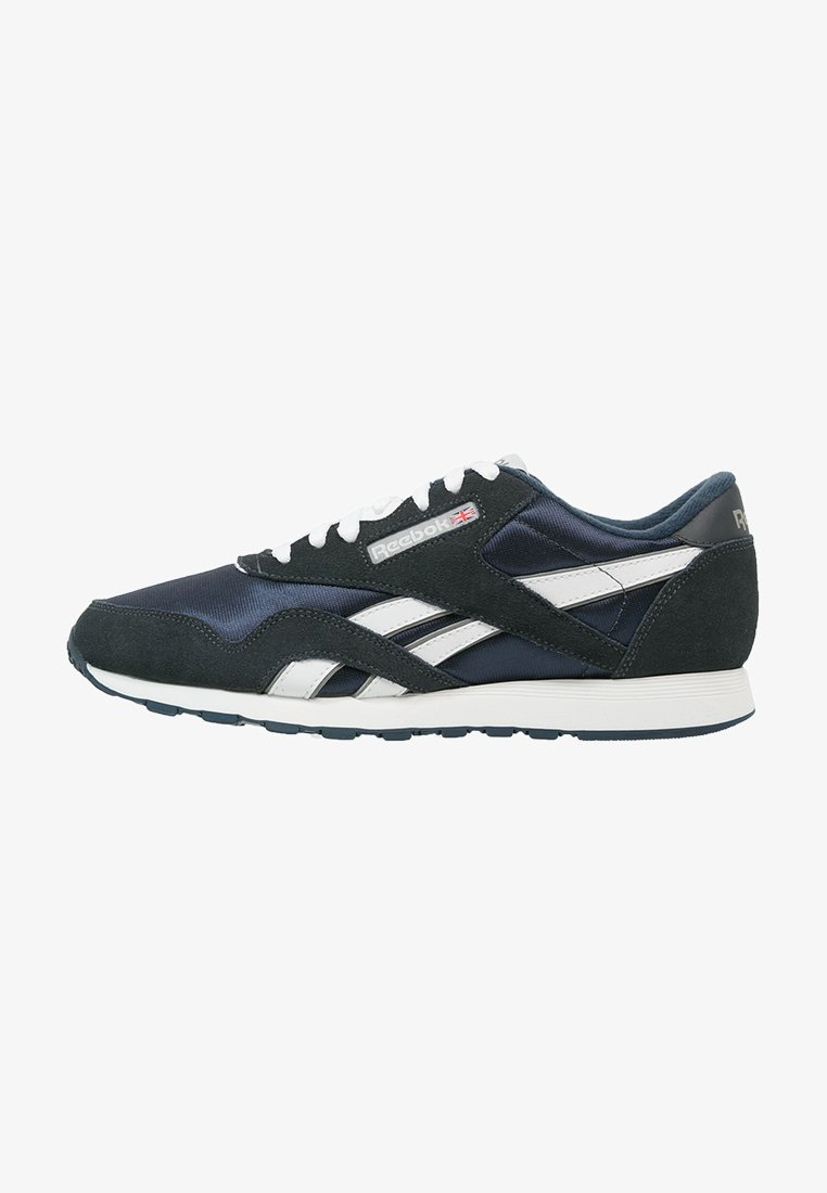 Reebok Classic - CLASSIC NYLON BREATHABLE LIGHTWEIGHT SHOES - Sneaker low - team navy/platinum